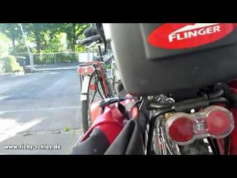 Fahrrad Topcase mit Topeak Quicktrack Eigenbau