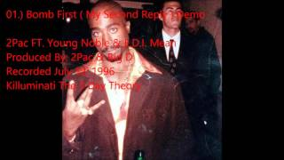 2Pac FT. Young Noble & E.D.I. Mean : Bomb First ( My Second Reply ) Demo