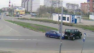 ДТП в Серпухове. Не заметил на повороте УАЗ... 25 апреля 2018г.