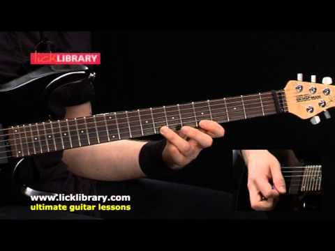 Pentatonic Scale Guitar Lesson With Andy James | Sample Licklibrary Online Lesson