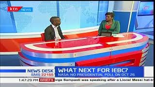 Newsdesk interview: What is next for IEBC? Part 1