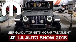 2020 Jeep Gladiator: Now with Mopar accessories | 2018 LA Auto Show