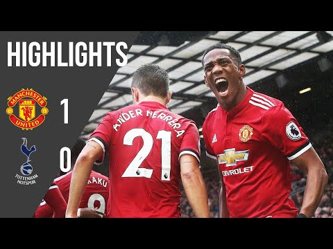 Manchester United 1-0 Tottenham | Premier League Highlights (17/18) | Manchester United