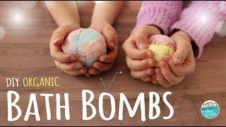 How To Make DIY Bath Bombs  |  Easy Recipe! Kids Safe & Organic