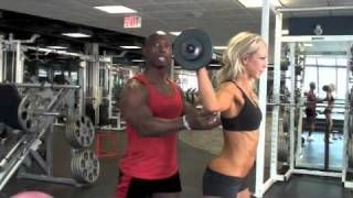 Calgary Fitness Tutorial - Shoulder Presses