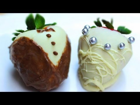 How To Decorate Chocolate Strawberries