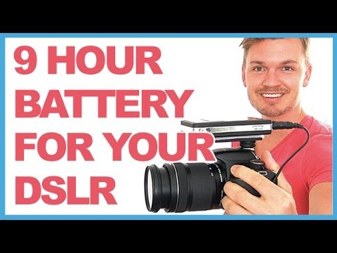 Get Nine Hours Of Battery Life On Your DSLR With This Battery Mod