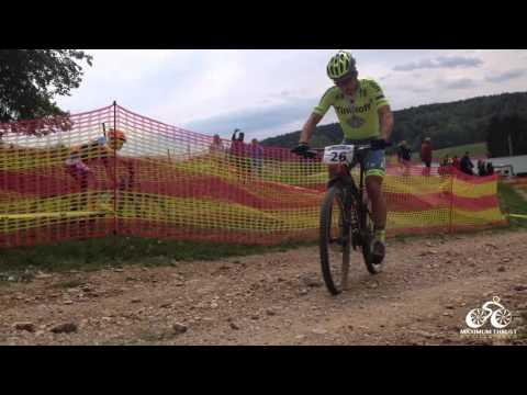Video: Peter Sagan faalt in mountainbikewedstrijd