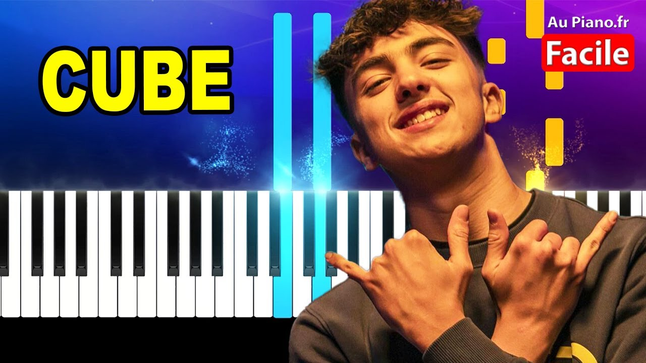 Inoxtag CUBE Feat. Flashboy – Piano Cover Tutorial Instru 2021 (AuPiano.Fr)
