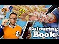 Professional Artist Colors a CHILDRENS Colouring Book Dragon Ball Z 8