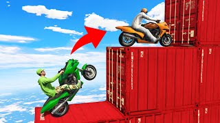 99% IMPOSSIBLE TO FINISH THIS SKILL COURSE! (GTA 5 Funny Moments)