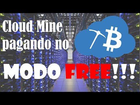 Mineradora em Nuvem pagando no modo FREE!!! Prova de pagamento!!!
