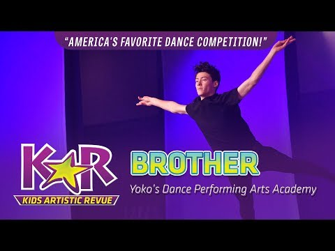 """""""Brother"""" from Yoko's Dance Perf. Arts Academy"""