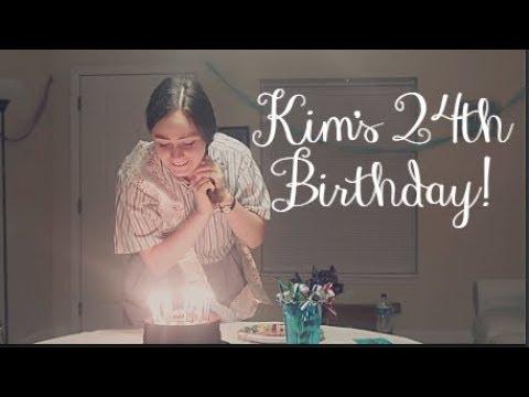 Kim's 24th Birthday! (видео)