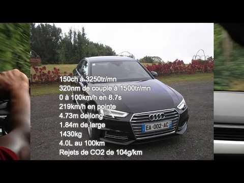 Audi A4 Avant S line 35 TDI 110 kW (150 ch) S tronic