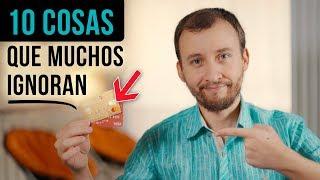 Video: 10 Cosas Que La Mayoría De La Gente Ignora Sobre Una Tarjeta De Crédito
