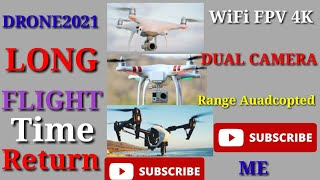 Drone X Pro AIR 4K Ultra HD Dual Camera FPV WiFi Quadcopter || WORLD EFFECT