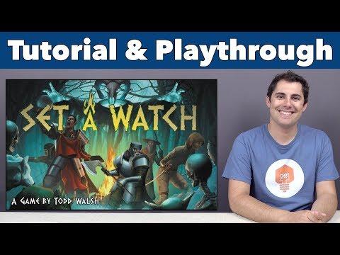 JonGetsGames - Set A Watch Tutorial & Playthrough