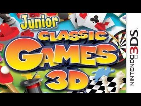 Junior Classic Games 3D Gameplay (Nintendo 3DS) [60 FPS] [1080p]