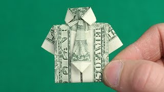 DOLLAR ORIGAMI SHIRT from Mr. Hacker