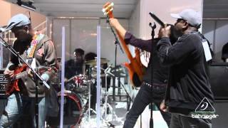 Living Colour - 'Cult of Personality' Live at NAMM 2014 BEHRINGER Booth