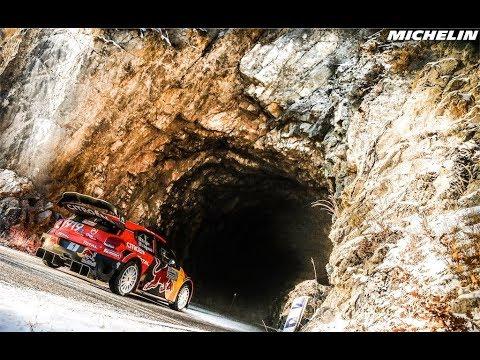 Leg 1& 2 Top moments - 2019 WRC Rallye Monte-Carlo - Michelin Motorsport
