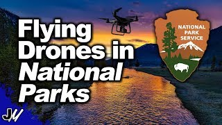 Flying Drones In National Parks | Hidden Document!
