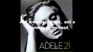 AdeleVEVO / Adele - Don't You Remember (Lyrics)