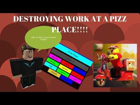 Roblox: Work At A Pizza Place Exploiting [Link in Desc