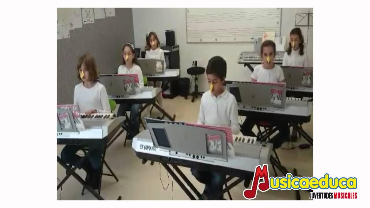 Soy un pájaro - Grupo de alumnos de Mi Teclado 2 - Musicaeduca Ciudad Real