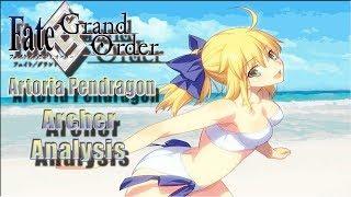 Artoria Pendragon  - (Fate/Grand Order) - Fate/Grand Order Artoria Pendragon Archer Spotlight Analysis