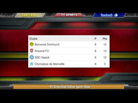 Match Napoli vs Arsenal 2013   2 0
