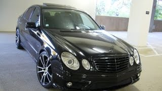 2007 MERCEDES - BENZ E-CLASS E63 AMG - for sale $34,999 #NWA4