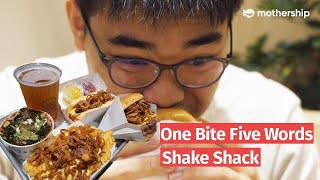 Shake Shack's ShackMeister menu | 1 bite, 5 words review
