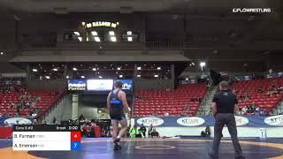 125 Kg Cons 8 2 Brendan Furman Cornell Vs Austin Emerson Nebraska 2