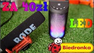 Głośnik LED z Biedronki za 40zł Hykker Fantasy Czy warto?