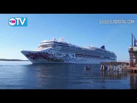 Crucero Norwegian Gem llegó a Puerto Corinto