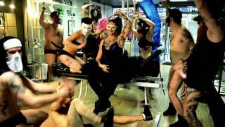 preview picture of video 'Harlem Shake - Pink Tattoo Shop Aurillac - HD'