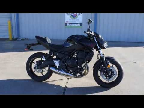 2020 Kawasaki Z650 ABS in La Marque, Texas - Video 1