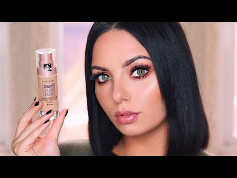 MAYBELLINE DREAM SATIN LIQUID FOUNDATION | First Impressions & Review!