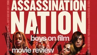 ASSASSINATION NATION starring Odessa Young | Boys On Film movie REVIEW