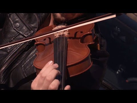 Playing Violin in Slow Motion