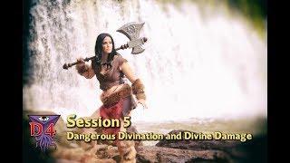 D4 D&D Waterdeeep Session 5: Dangerous Divination and Divine Damage