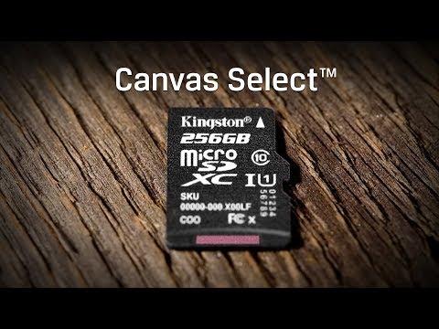 Schede microSD con velocità di classe 1 UHS-I - Canvas Select - Kingston Technology