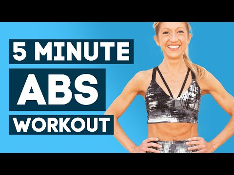 Abs Workout Without Weights at Home - Shape Your Stomach in Seconds (5 Minutes)