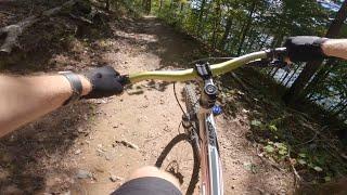 POV view of Amadahy Trail ride.