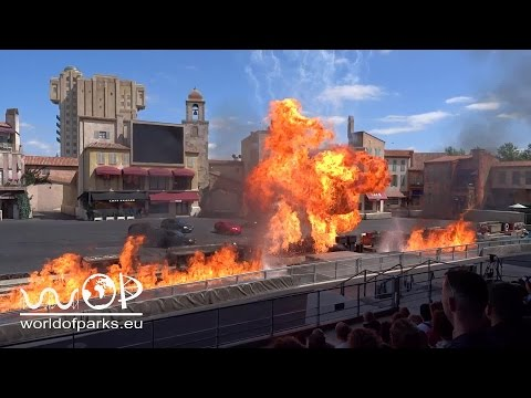 Disneyland Paris - Moteurs... Action! Stunt Show Spectacular 2015 - Walt Disney Studios Paris HD