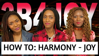 How To Harmonize  - JOY by Vashawn Mitchell - 3B4JOY