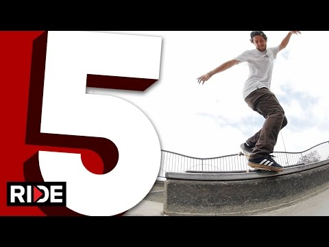 Trent McClung 5 Favorite Ledge Tricks