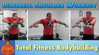 Full Shoulder Workout with Dumbbells at Home by Lee Hayward